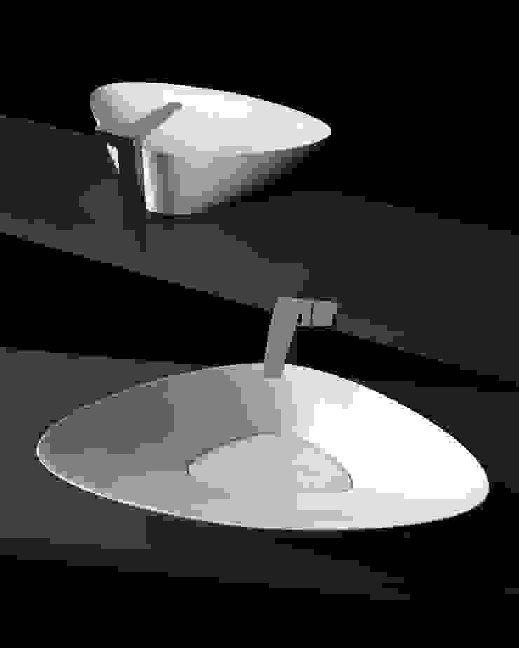 BLAT biancco lucido eto' Bagno moderno Ceramica Bianco