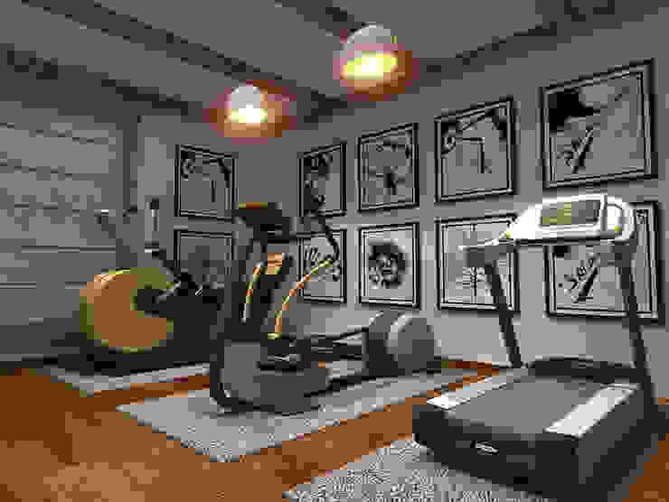 House Interiors in Jalandhar,Punjab Modern gym by Design & Creations Modern