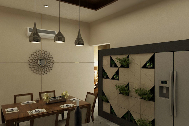 House Interiors in Jalandhar,Punjab Modern kitchen by Design & Creations Modern