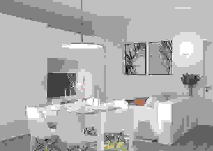 Salas de estar modernas por Bongio Valentina Moderno