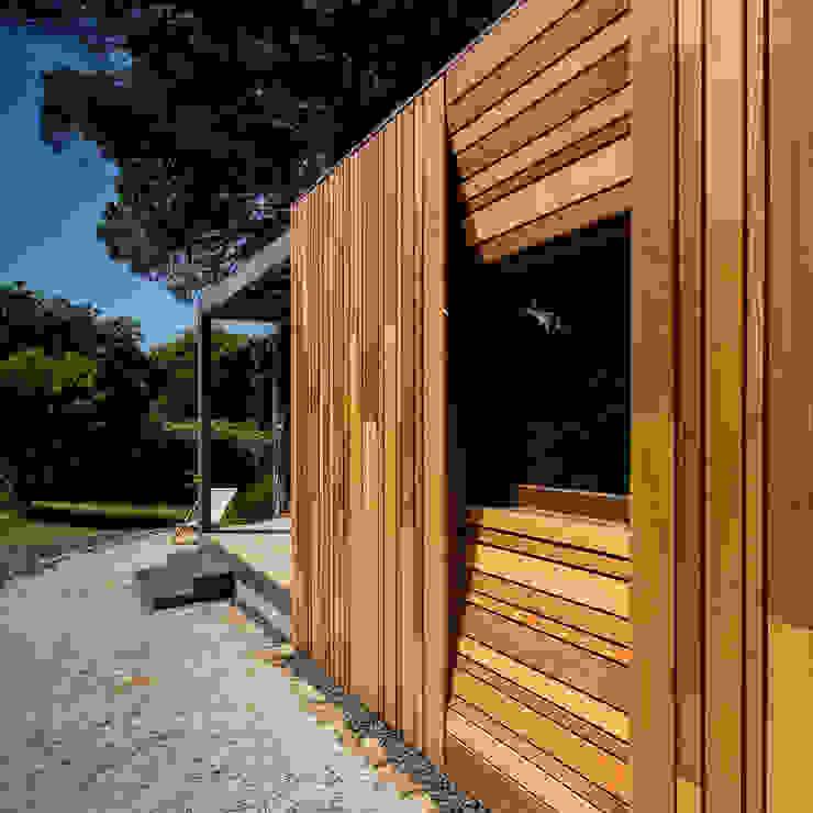 Refugio Pré-Fabricado Madeira Studio A+1 Casas pré-fabricadas Madeira