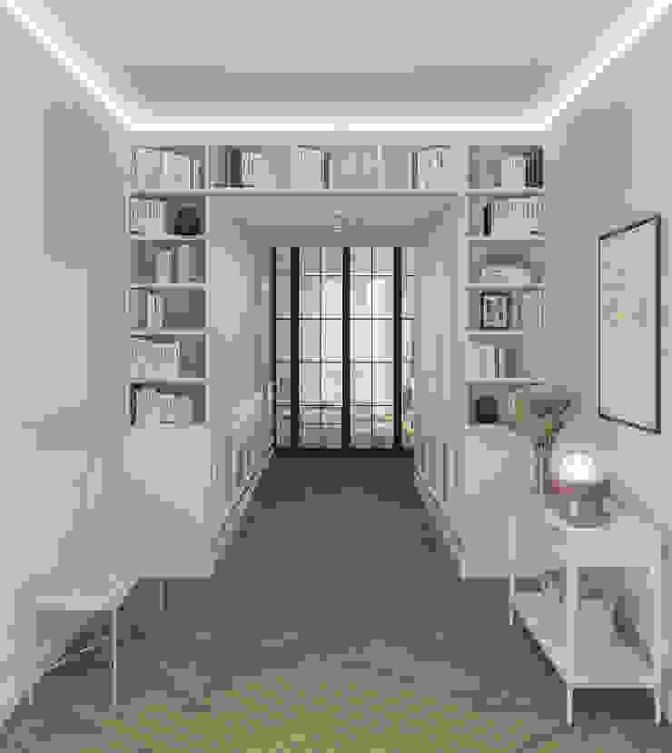 Appartamento in Milano, Ticinese - 180mq Ingresso, Corridoio & Scale in stile coloniale di Bongio Valentina Coloniale