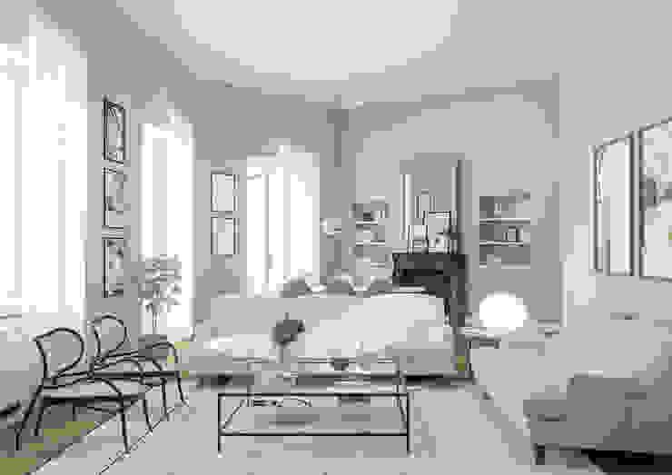 Salas de estar coloniais por Bongio Valentina Colonial