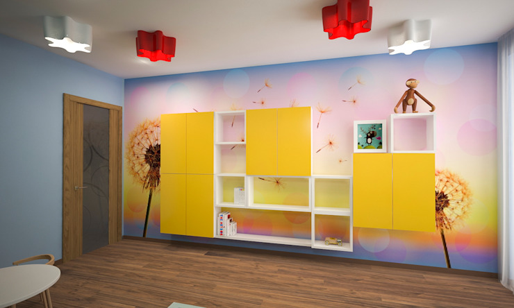 ISDesign group s.r.o. Eclectic style nursery/kids room