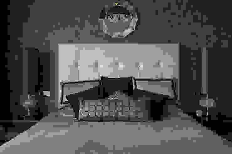 Дизайнер Ольга Айсина ห้องนอน