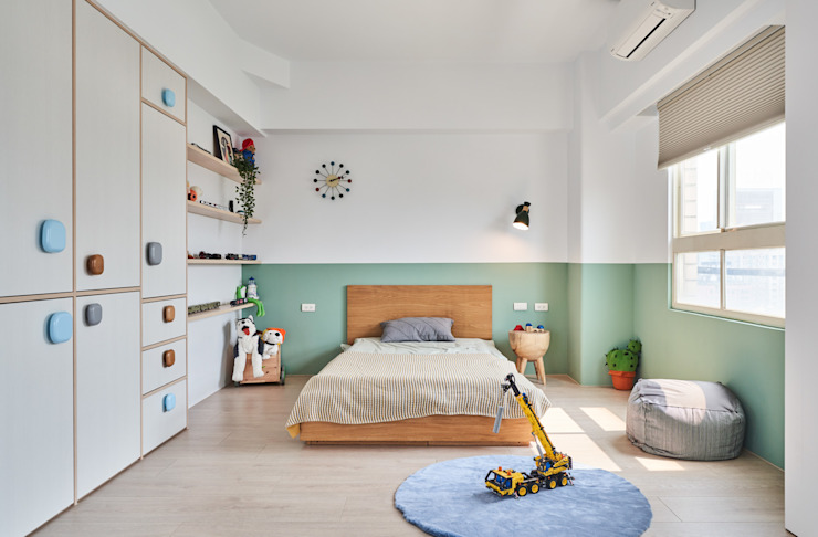 MSBT 幔室布緹 Cuartos infantiles de estilo moderno Madera Acabado en madera