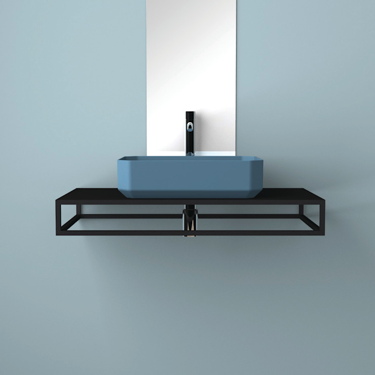 eto' Modern Bathroom Ceramic Turquoise