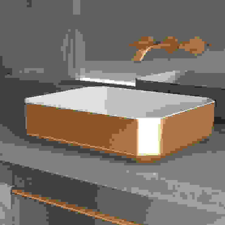 eto' Classic style bathroom Ceramic Amber/Gold