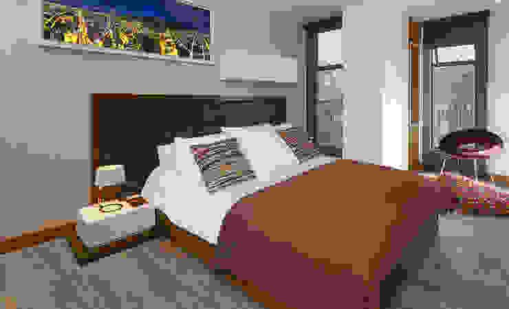 Habitacion Casallas+Duque Arquitectos Habitaciones modernas