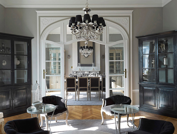 Interview with homify Marcotte Style Klassieke woonkamers