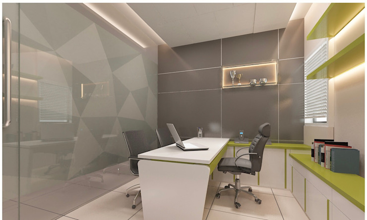 Office in Mumbai by L V Designs Modern