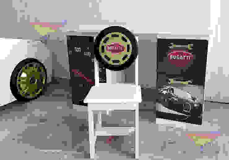 Divertido escritorio de Bugatti de Kids Wolrd- Recamaras Literas y Muebles para niños Moderno Derivados de madera Transparente