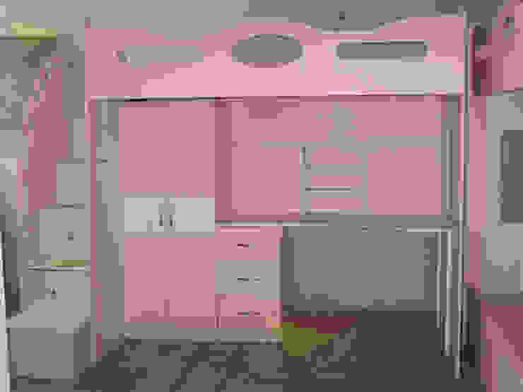 Kids Wolrd- Recamaras Literas y Muebles para niños Nursery/kid's roomBeds & cribs Kayu Buatan Pink
