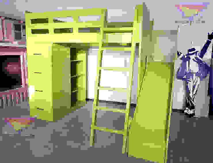 Kids Wolrd- Recamaras Literas y Muebles para niños Nursery/kid's roomBeds & cribs Kayu Buatan Green