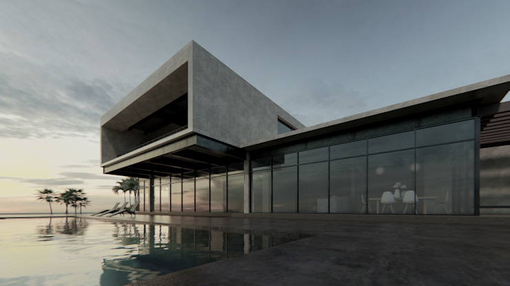 ConstruTech & Technology BIM Single family home Concrete Beige