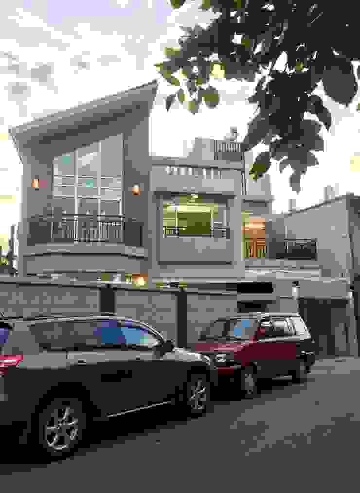 麥斯迪設計 Casas de estilo rústico Azulejos