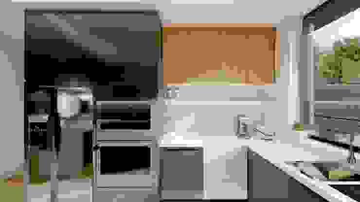 Kitchen Structura Architects Built-in kitchens MDF Brown