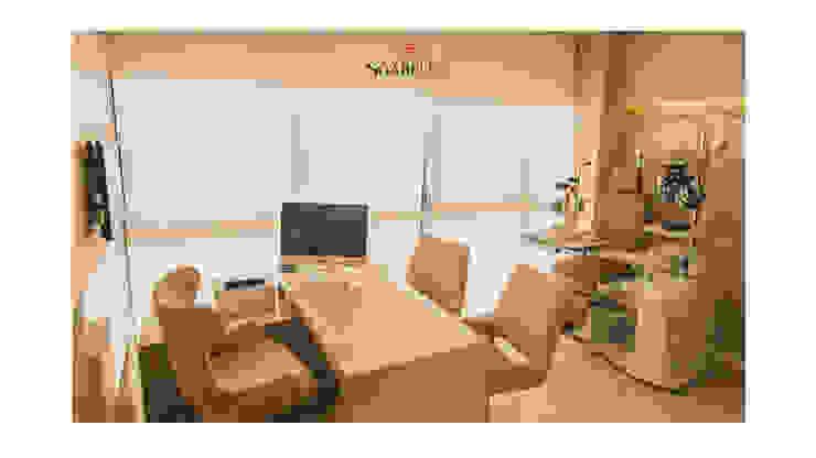 Sgabello Interiores Office spaces & stores Beige