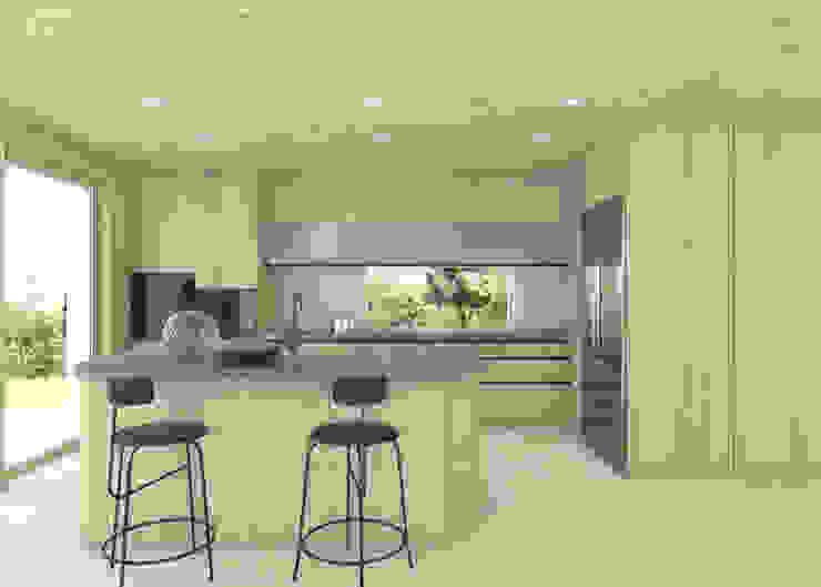 Maša Zorn Built-in kitchens Wood