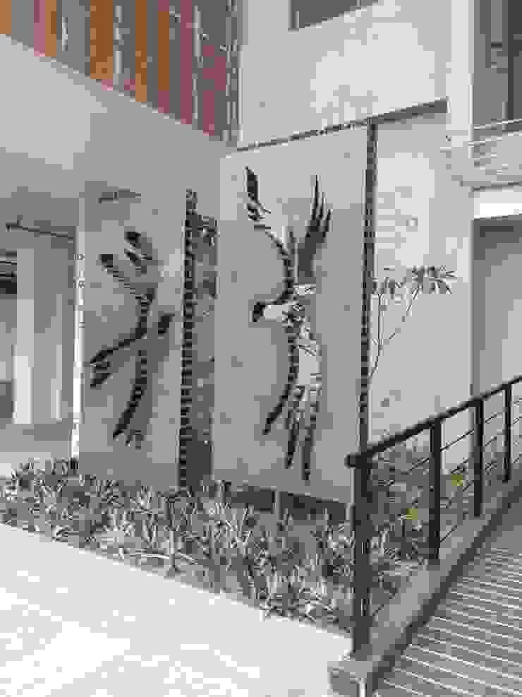 bird mrittika, the sculpture 商業空間 鐵/鋼 Grey