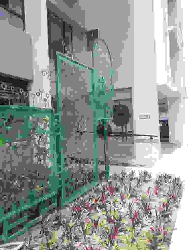 leaf sculpture mrittika, the sculpture 購物中心 鐵/鋼 Green