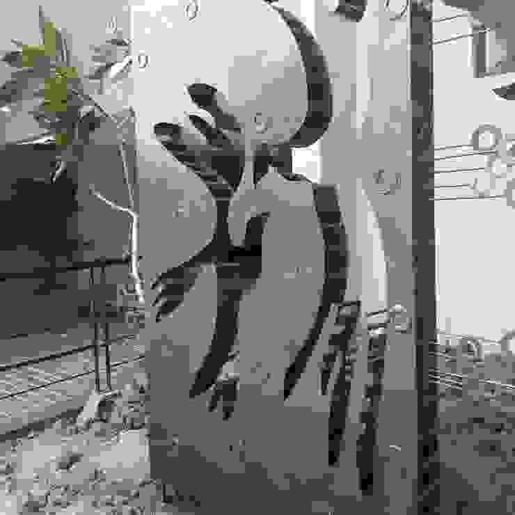 birds sculpture mrittika, the sculpture 辦公大樓 鐵/鋼 Green