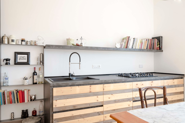 La cucina Cucina in stile scandinavo di Angela Baghino Scandinavo