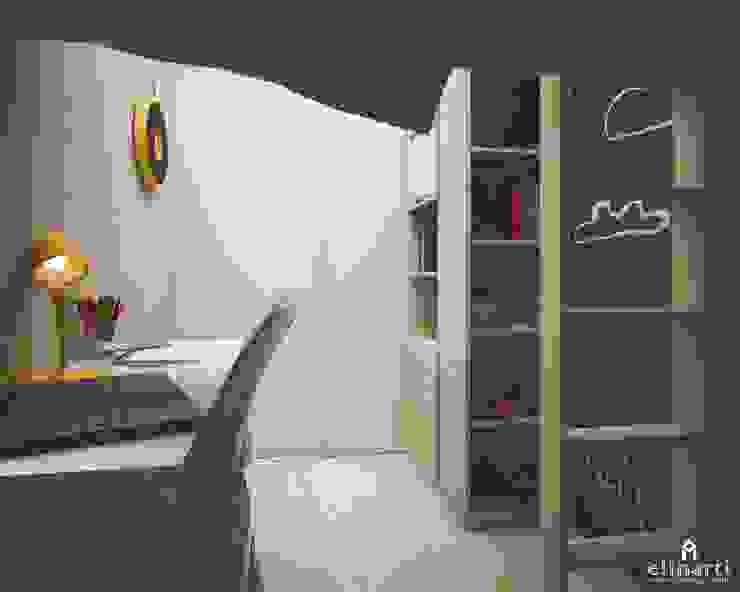 Детская для мальчиков Студия дизайна Elinarti Спальни для мальчиков ДСП Синий
