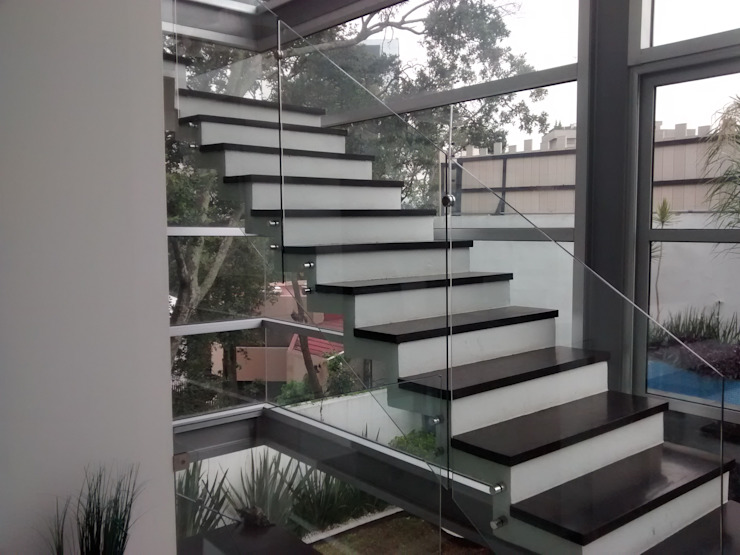 casa Residencial C. A. arquitectos Escaleras