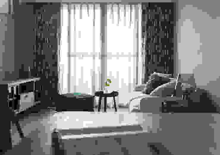 憩息 耀昀創意設計有限公司/Alfonso Ideas Scandinavian style living room