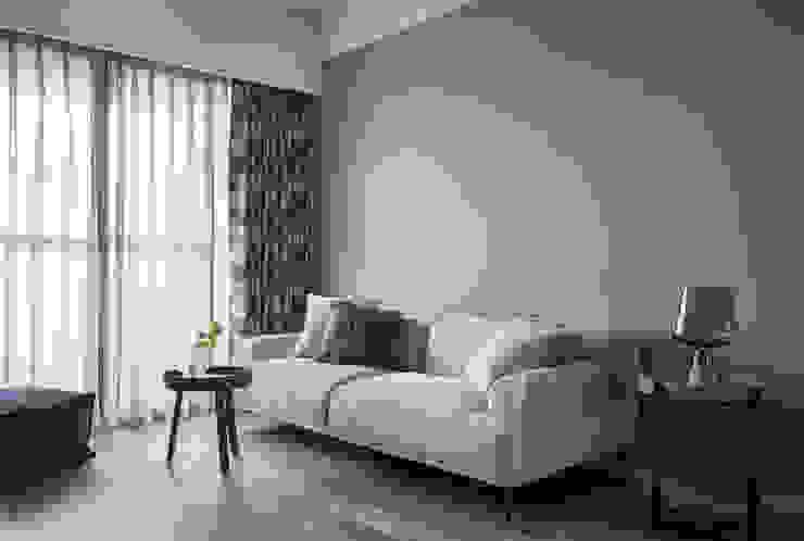 我低調 但我不凡 耀昀創意設計有限公司/Alfonso Ideas Scandinavian style living room