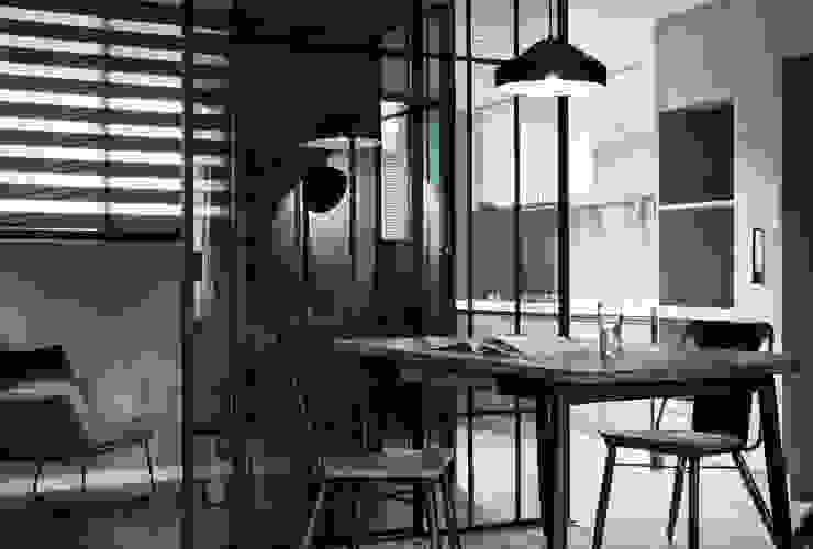 虛與實 耀昀創意設計有限公司/Alfonso Ideas Scandinavian style kitchen