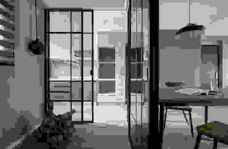 隔格相間 耀昀創意設計有限公司/Alfonso Ideas Scandinavian style study/office