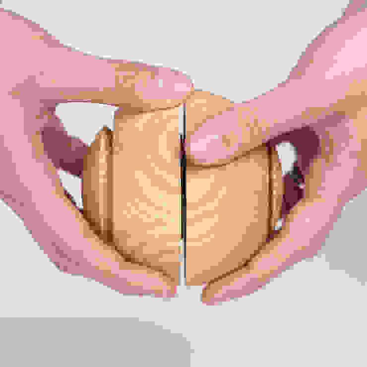 Gewürzmühlen Handhabung gegeneinander vor und zurück drehen, www.gewuerzmuehle-kohl.de von Guido Kohl Produktentwicklung / Industrialdesign Minimalistisch Holz Holznachbildung