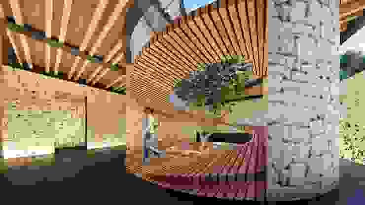 Escaleras TDT Arquitectos Escaleras Acabado en madera