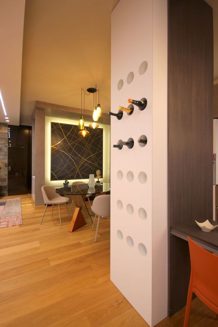 Studio Ferlenda Comedores de estilo moderno Madera Acabado en madera