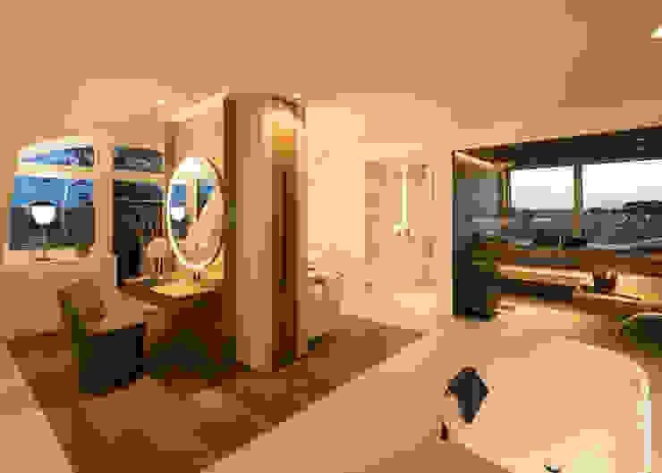 schulz.rooms Kamar Mandi Modern