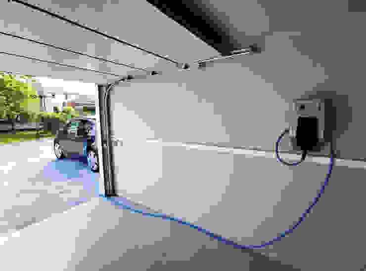Seitz Elektroinstallation Garasi prefabrikasi Beton White