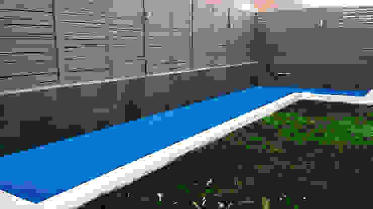 Piscina 10x2 Piscinas con Diseño Chile Piscinas de jardín Concreto reforzado Azul