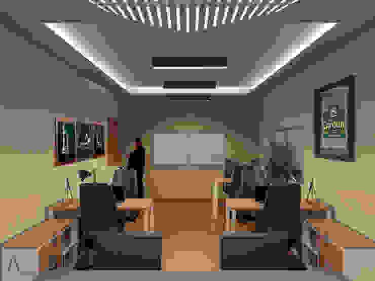 ANBA interiorismo Modern study/office