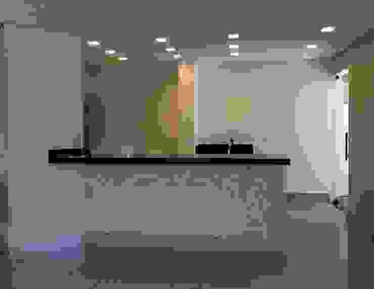Espaço Gourmet -DEPOIS Edifícios comerciais modernos por Lucia Helena Bellini arquitetura e interiores Moderno