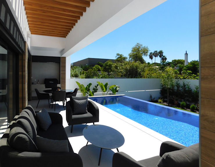 Luís Duarte Pacheco - Arquitecto Infinity Pool Blue