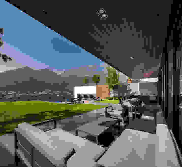 GLR Arquitectos Modern Terrace