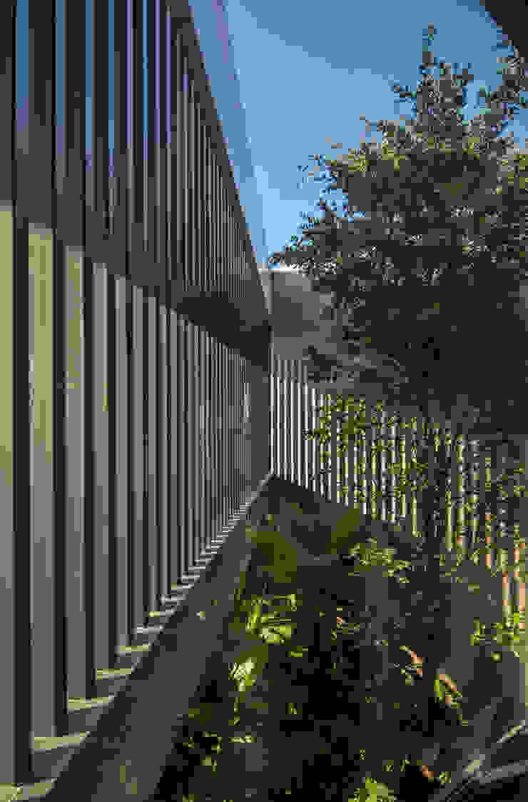 GLR Arquitectos Modern style gardens