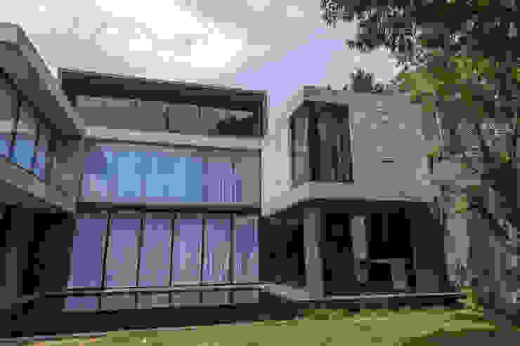 CASA SATÉLITE emARTquitectura Arte y Diseño Casas modernas