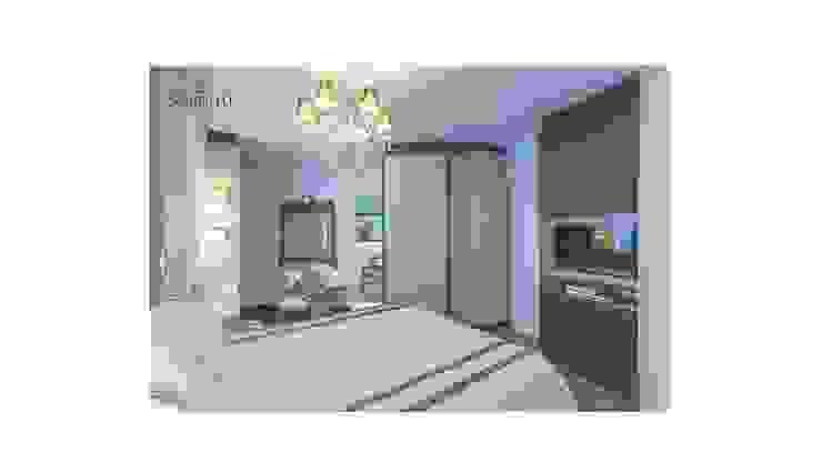 Sgabello Interiores BedroomWardrobes & closets Grey