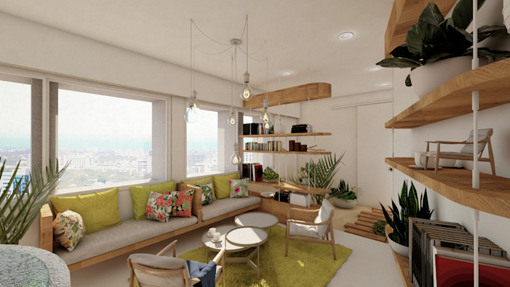 The First - Interior Spaces for Mental Health Input-A Classic style living room