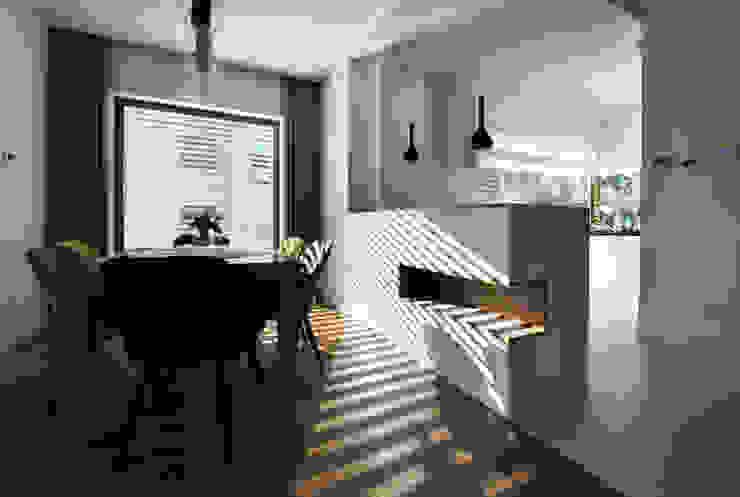 Piotr Stolarek Projektowanie Wnętrz 現代廚房設計點子、靈感&圖片
