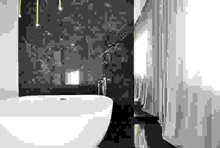 Piotr Stolarek Projektowanie Wnętrz 現代浴室設計點子、靈感&圖片