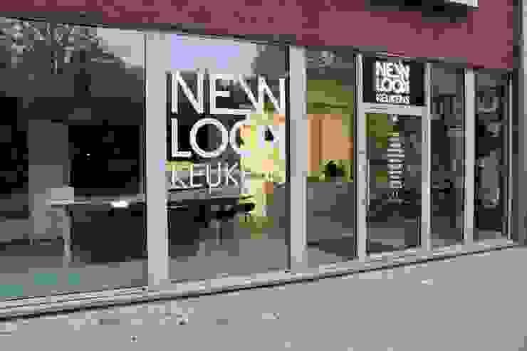 NewLook Brasschaat Keukens Dapur built in Aluminium/Seng Grey